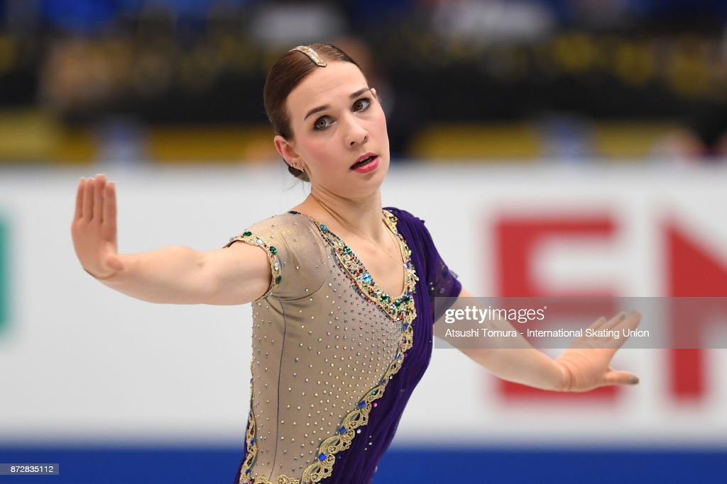 Алена Леонова - Страница 12 Alena-leonova-of-russia-competes-in-the-ladies-free-skating-during-picture-id872835112