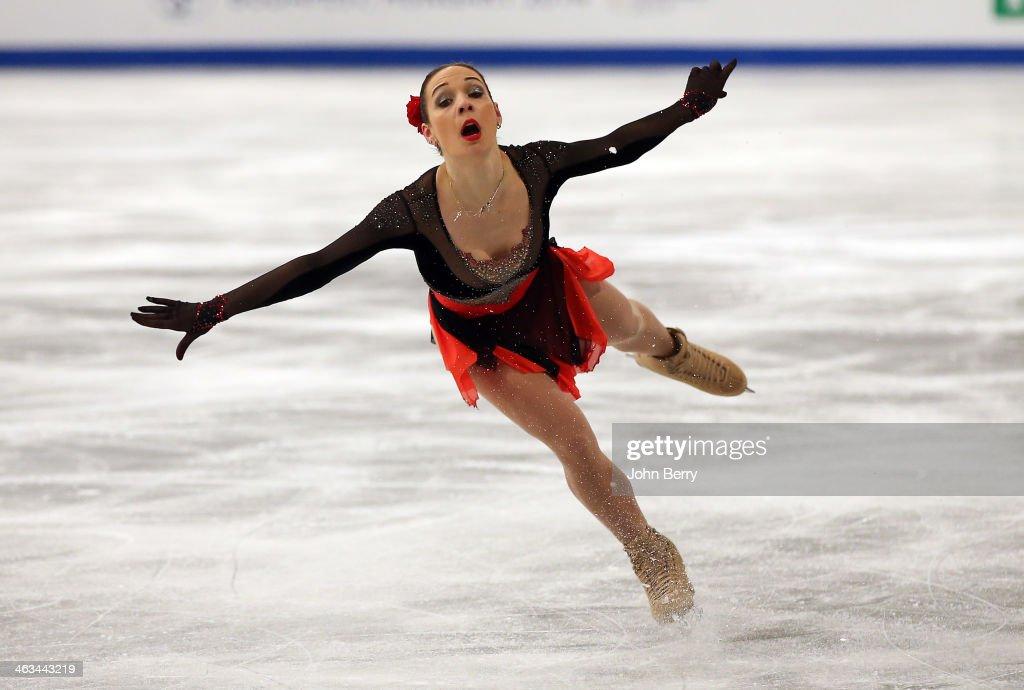ISU European Figure Skating Championships 2014 : Day 3