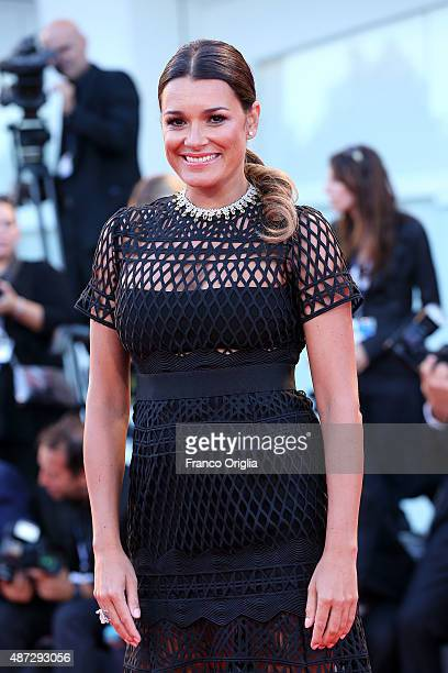 Alena Seredova attends a premiere for 'Blood Of My Blood' during the 72nd Venice Film Festival at on September 8 2015 in Venice Italy