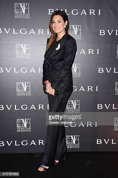 Alena Seredova attends the Venetian Heritage And Bulgari Gala Dinner at Cipriani Hotel on May 9 2015 in Venice Italy
