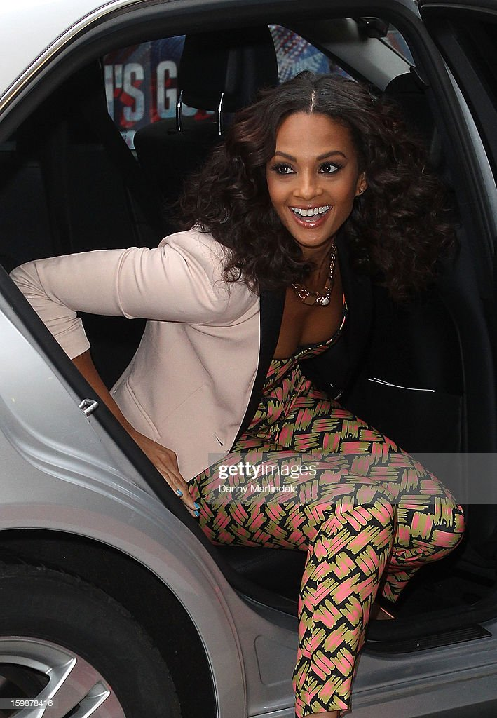 <a gi-track='captionPersonalityLinkClicked' href=/galleries/search?phrase=Alesha+Dixon&family=editorial&specificpeople=220622 ng-click='$event.stopPropagation()'>Alesha Dixon</a> arrives for auditions for Britain's Got Talent at London Palladium on January 22, 2013 in London, England.