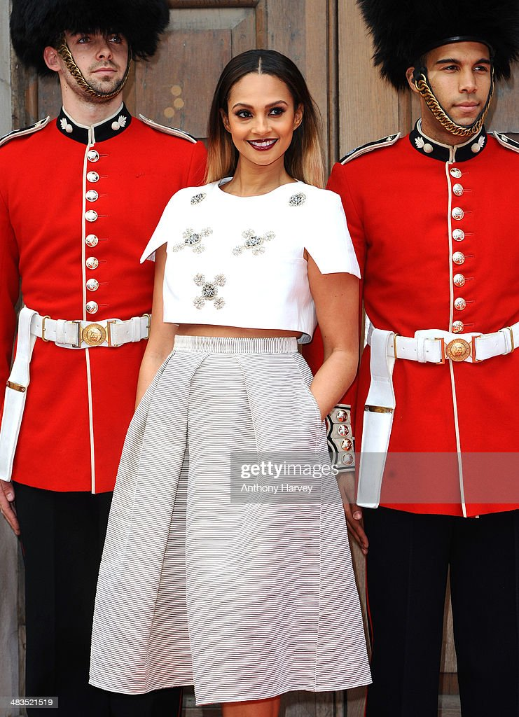 Alesha Dixon attends a photocall for 'Britain's Got Talent' at St Luke's Church on April 9, 2014 in London, England.