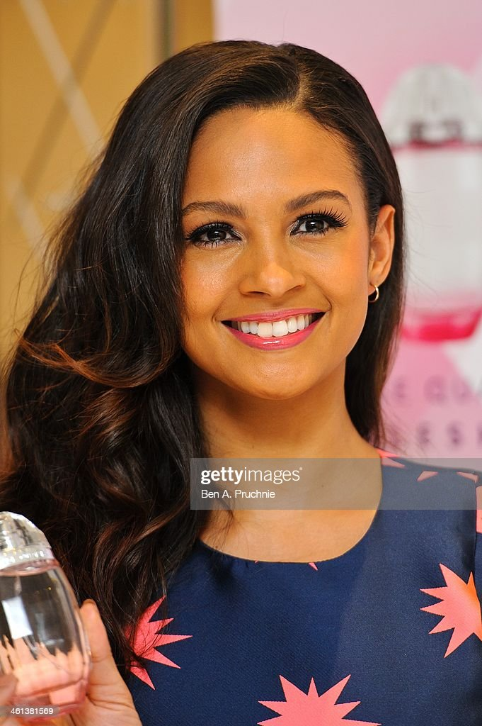 <a gi-track='captionPersonalityLinkClicked' href=/galleries/search?phrase=Alesha+Dixon&family=editorial&specificpeople=220622 ng-click='$event.stopPropagation()'>Alesha Dixon</a> attends a photocall to launch her new fragrance 'Rose Quartz' at St Martin's Lane Hotel on January 8, 2014 in London, England.