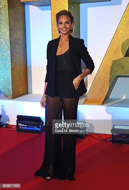 Alesha Dixon attends the 21st National Television Awards at The O2 Arena on January 20 2016 in London England