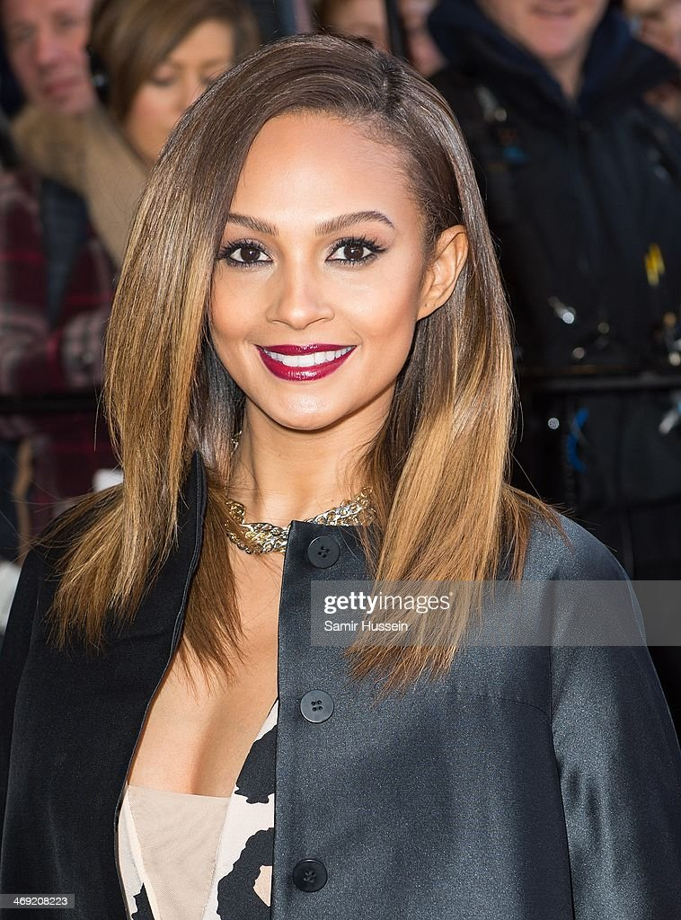 <a gi-track='captionPersonalityLinkClicked' href=/galleries/search?phrase=Alesha+Dixon&family=editorial&specificpeople=220622 ng-click='$event.stopPropagation()'>Alesha Dixon</a> attends the Britain's Got Talent London auditions at the Hammersmith Apollo on February 13, 2014 in London, England.