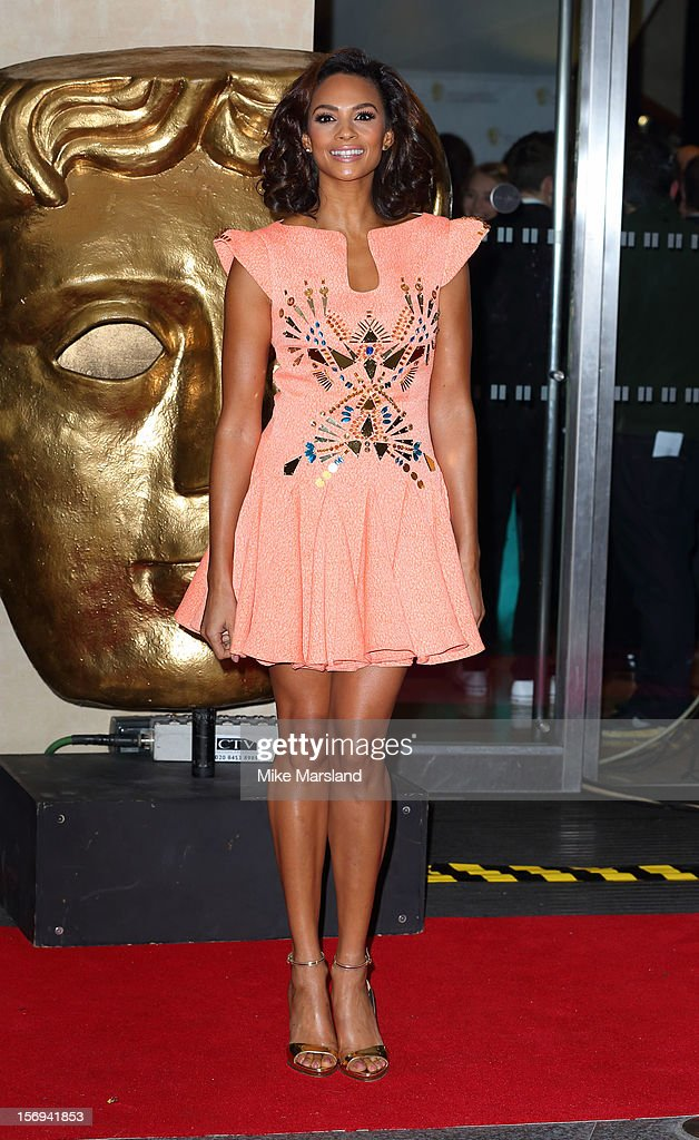 Alesha Dixon attends the British Academy Children's Awards at London Hilton on November 25, 2012 in London, England.