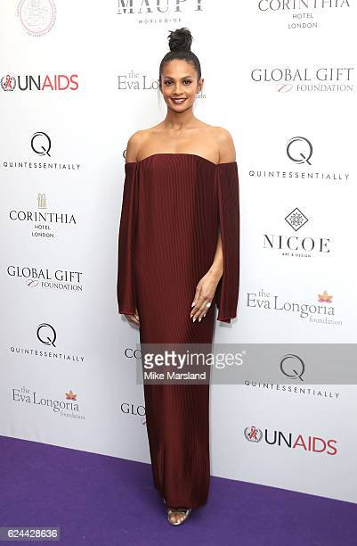 Alesha Dixon attends the Global Gift Gala London on November 19 2016 in London United Kingdom