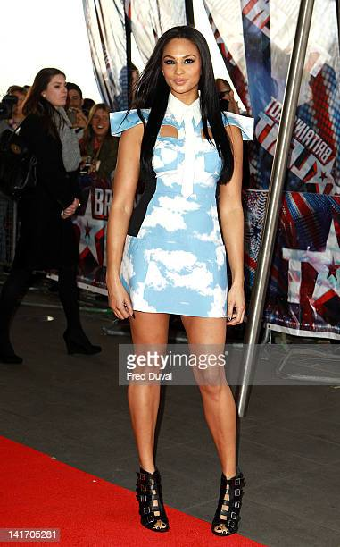 Alesha Dixon attends the launch for Britain's Got Talent at BFI Southbank on March 22 2012 in London England