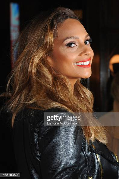 Alesha Dixon attends the London auditions for Britain's Got Talent at Dominion Theatre on February 11 2015 in London England