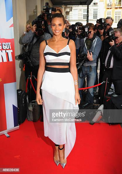 Alesha Dixon attends the London Auditions for Britain's Got Talent at The Mayfair Hotel on April 9 2015 in London England