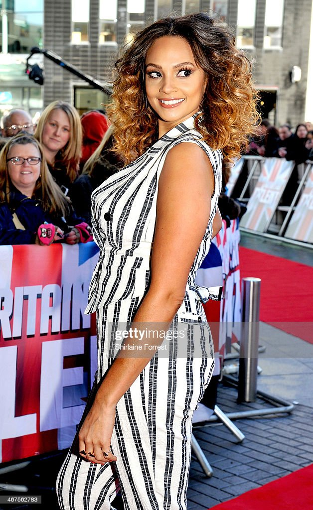 Alesha Dixon attends the Manchester auditions for Britain's Got Talent at The Lowry on February 7, 2014 in Manchester, England.