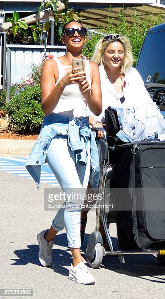 Alesha Dixon is seen on July 18 2016 in Ibiza Spain