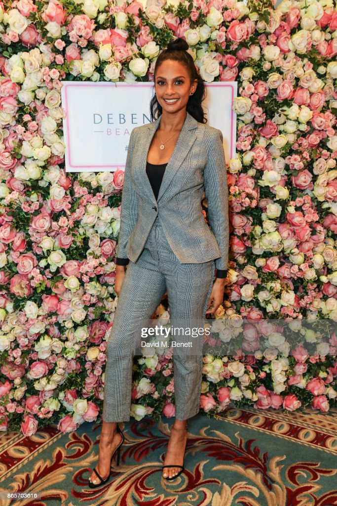 Debenhams Talks Beauty With Alesha Dixon