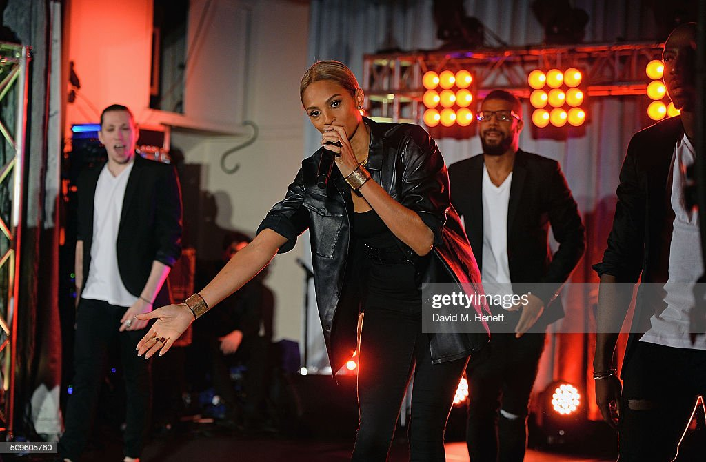 <a gi-track='captionPersonalityLinkClicked' href=/galleries/search?phrase=Alesha+Dixon&family=editorial&specificpeople=220622 ng-click='$event.stopPropagation()'>Alesha Dixon</a> performs at the British Heart Foundation: Roll Out The Red Ball at The Savoy Hotel on February 11, 2016 in London, England.