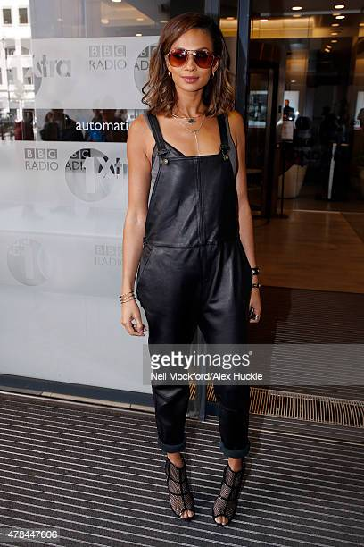 Alesha Dixon seen arriving at the BBC Radio 1 Studios on June 25 2015 in London England Photo by Neil Mockford/Alex Huckle/GC Images