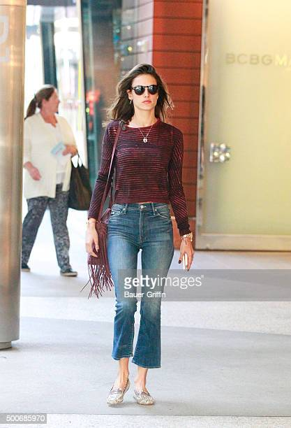 Alessandra Ambrosia is seen on December 09 2015 in Los Angeles California