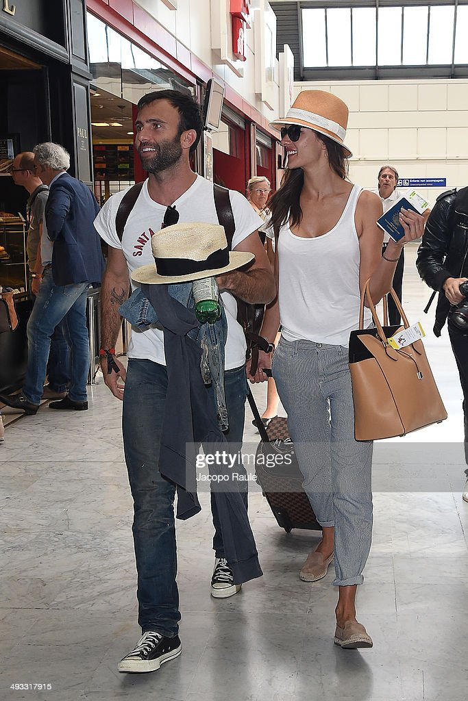 <a gi-track='captionPersonalityLinkClicked' href=/galleries/search?phrase=Alessandra+Ambrosio&family=editorial&specificpeople=203062 ng-click='$event.stopPropagation()'>Alessandra Ambrosio</a> and <a gi-track='captionPersonalityLinkClicked' href=/galleries/search?phrase=Jamie+Mazur&family=editorial&specificpeople=5344757 ng-click='$event.stopPropagation()'>Jamie Mazur</a> are seen arriving in Nice for the 67th Annual Cannes Film Festival>> on May 23, 2014 in Nice, France.