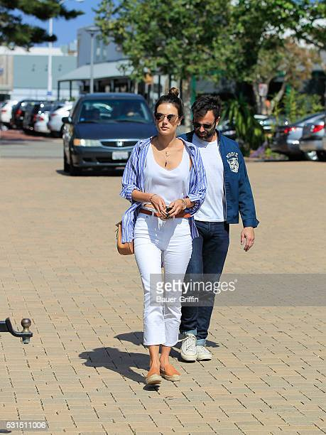 Alessandra Ambrosio and Jamie Mazur are seen on May 14 2016 in Los Angeles California