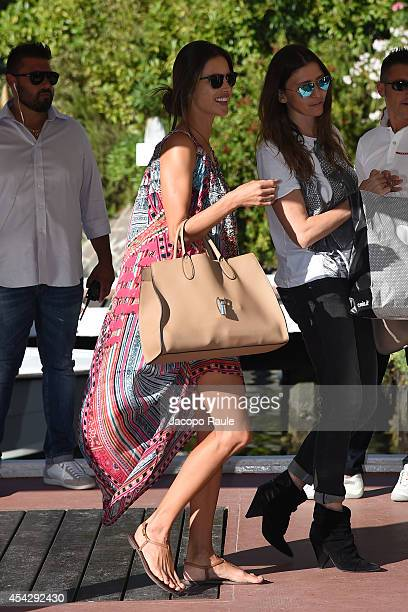 Alessandra Ambrosio and Valentina Micchetti are seen during The 71st Venice International Film Festival on August 28 2014 in Venice Italy