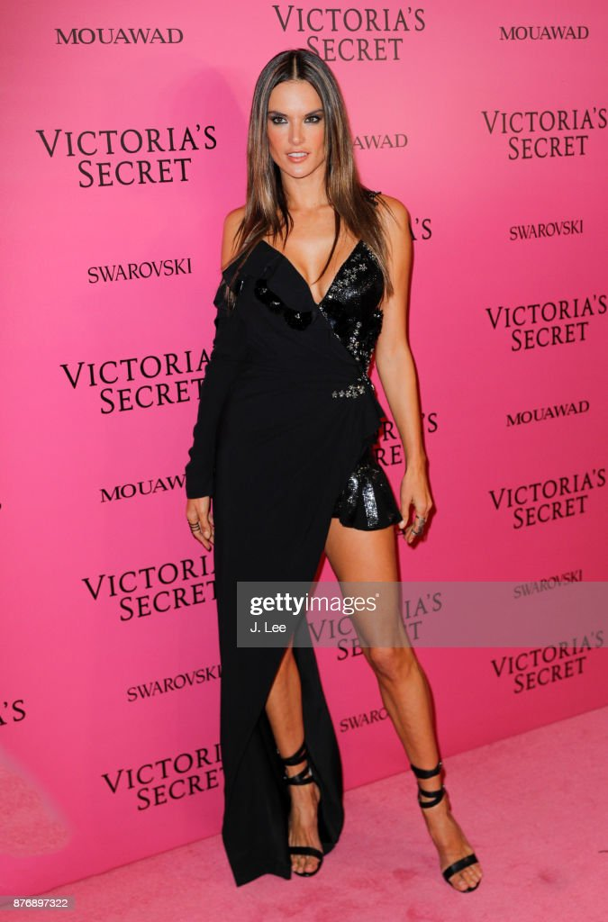 Alessandra Ambrosio at the 2017 Victoria's Secret Fashion show afterparty on November 20, 2017 in Shanghai, China.