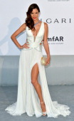 Alessandra Ambrosio attends amfAR's 21st Cinema Against AIDS Gala Presented By WORLDVIEW BOLD FILMS And BVLGARI at the 67th Annual Cannes Film...