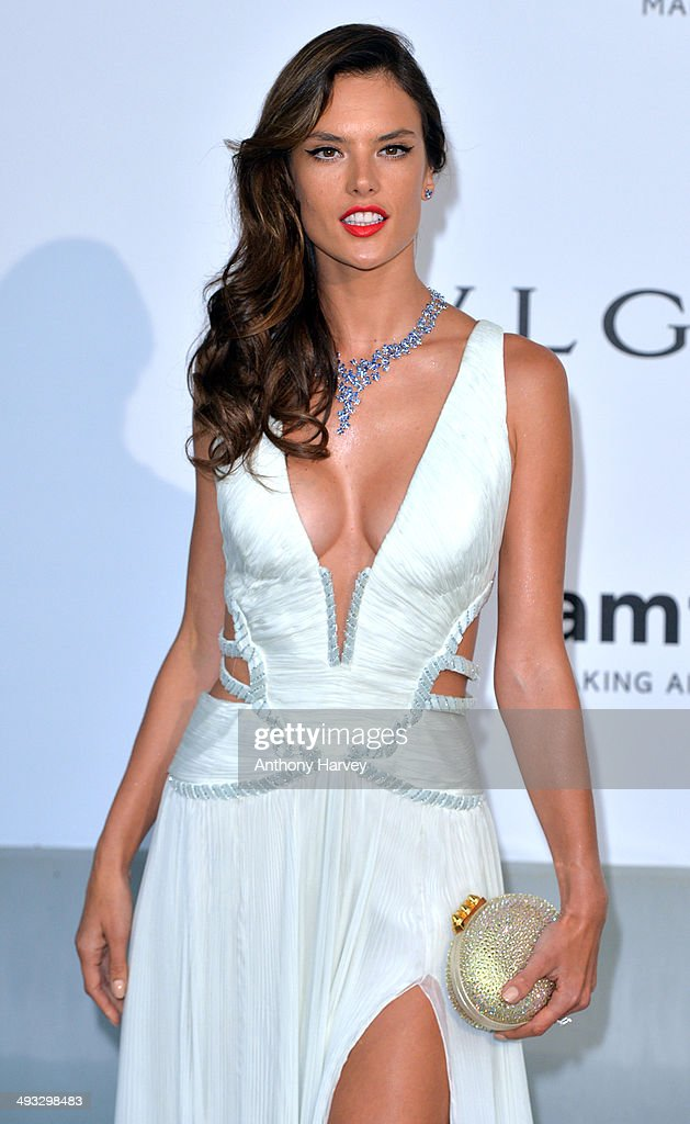<a gi-track='captionPersonalityLinkClicked' href=/galleries/search?phrase=Alessandra+Ambrosio&family=editorial&specificpeople=203062 ng-click='$event.stopPropagation()'>Alessandra Ambrosio</a> attends amfAR's 21st Cinema Against AIDS Gala, Presented By WORLDVIEW, BOLD FILMS, And BVLGARI at the 67th Annual Cannes Film Festival on May 22, 2014 in Cap d'Antibes, France.