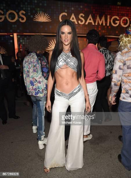 Alessandra Ambrosio attends Casamigos Halloween Party on October 27 2017 in Los Angeles California