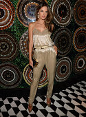 Alessandra Ambrosio attends InStyle 20th anniversary celebration at Diamond Horseshoe at the Paramount Hotel on September 8 2014 in New York City