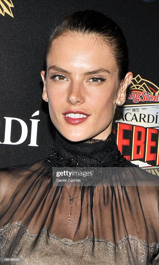 <a gi-track='captionPersonalityLinkClicked' href=/galleries/search?phrase=Alessandra+Ambrosio&family=editorial&specificpeople=203062 ng-click='$event.stopPropagation()'>Alessandra Ambrosio</a> attends the 2013 Bacardi Rebels Event Hosted By Rolling Stone at Roseland Ballroom on May 20, 2013 in New York City.