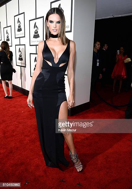 Alessandra Ambrosio attends The 58th GRAMMY Awards at Staples Center on February 15 2016 in Los Angeles California
