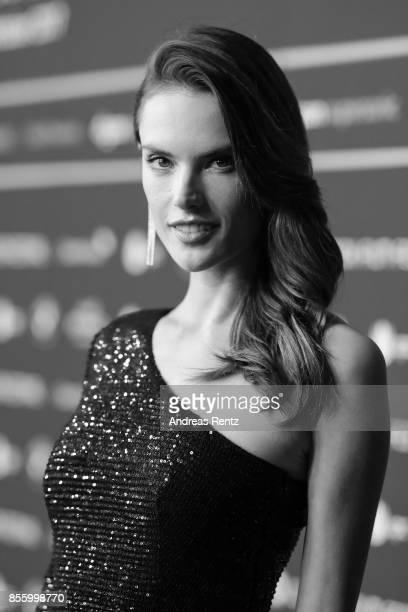 Alessandra Ambrosio attends the 'C'est La Vie' premiere at the 13th Zurich Film Festival on September 30 2017 in Zurich Switzerland The Zurich Film...