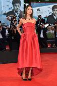 Alessandra Ambrosio attends the 'La Rancon De La Gloire' premiere during the 71st Venice Film Festival on August 28 2014 in Venice Italy