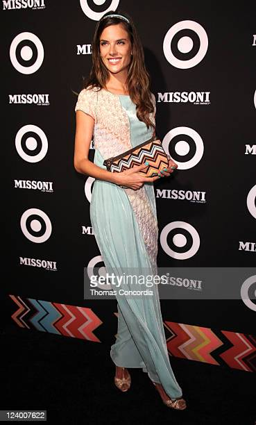 Alessandra Ambrosio attends the Missoni for Target Private Launch Event on September 7 2011 in New York City