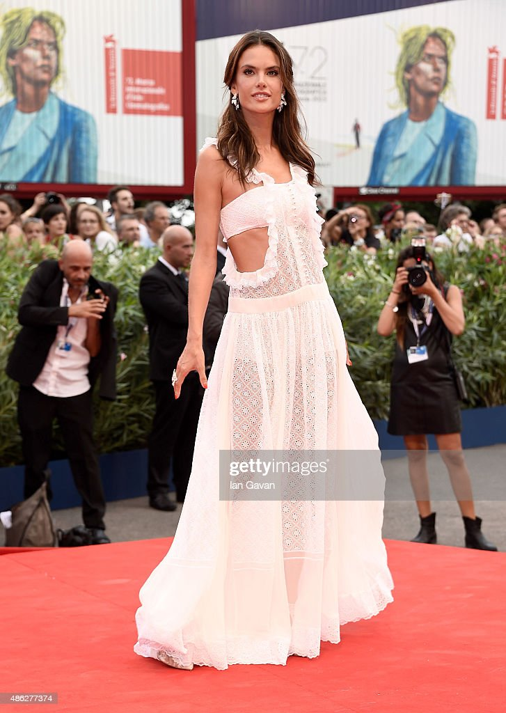 Alessandra Ambrosio attends the opening ceremony and premiere of 'Everest' during the 72nd Venice Film Festival on September 2 2015 in Venice Italy
