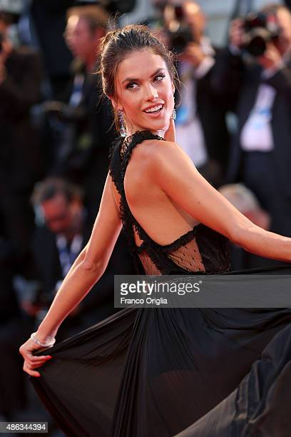 Alessandra Ambrosio attends the premiere of 'Spotlight' during the 72nd Venice Film Festival on September 3 2015 in Venice Italy