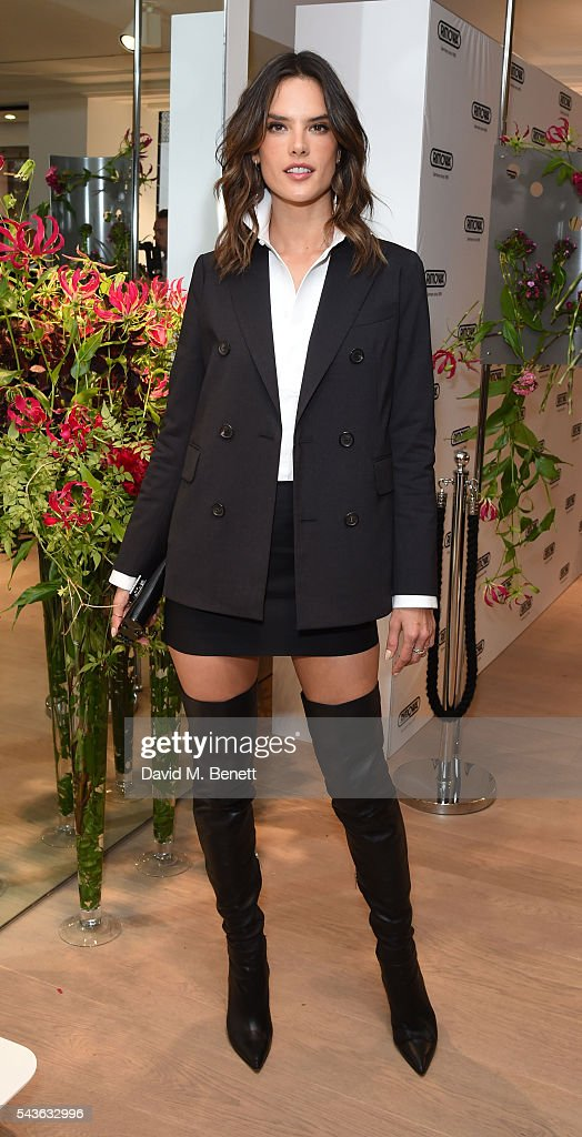 <a gi-track='captionPersonalityLinkClicked' href=/galleries/search?phrase=Alessandra+Ambrosio&family=editorial&specificpeople=203062 ng-click='$event.stopPropagation()'>Alessandra Ambrosio</a> attends the RIMOWA London concept store VIP launch party on June 29, 2016 in London, England.