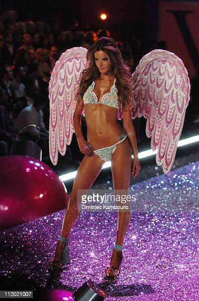 Alessandra Ambrosio during 10th Victoria's Secret Fashion Show Runway at The New York State Armory in New York City New York United States