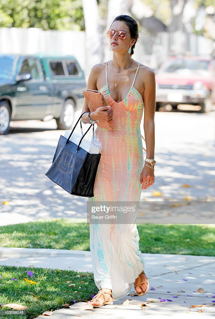 <a gi-track='captionPersonalityLinkClicked' href=/galleries/search?phrase=Alessandra+Ambrosio&family=editorial&specificpeople=203062 ng-click='$event.stopPropagation()'>Alessandra Ambrosio</a> is seen in Brentwood on August 01, 2014 in Los Angeles, California.