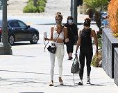 Celebrity Sightings In Los Angeles - April 15, 2021