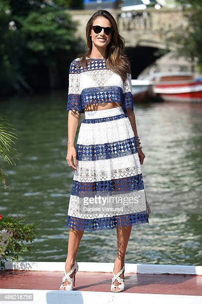 Alessandra Ambrosio is seen on day 1 of the 72nd Venice Film Festival on September 2 2015 in Venice Italy