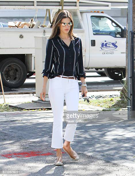Alessandra Ambrosio is seen on February 18 2016 in Los Angeles California