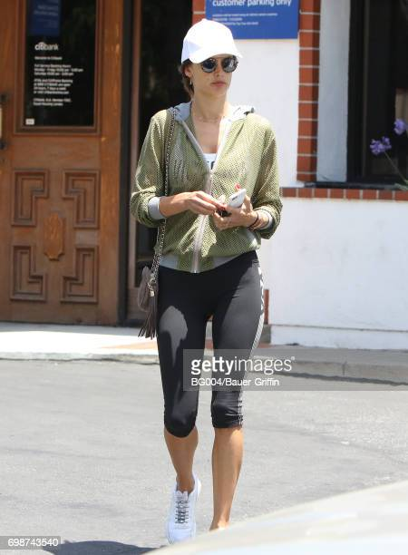 Alessandra Ambrosio is seen on June 20 2017 in Los Angeles California
