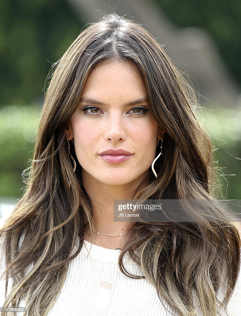 Alessandra Ambrosio is seen on March 11, 2014 in Los Angeles, California.