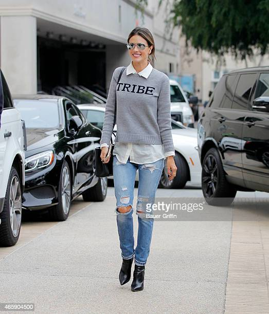 Alessandra Ambrosio is seen on March 11 2015 in Beverly Hills California