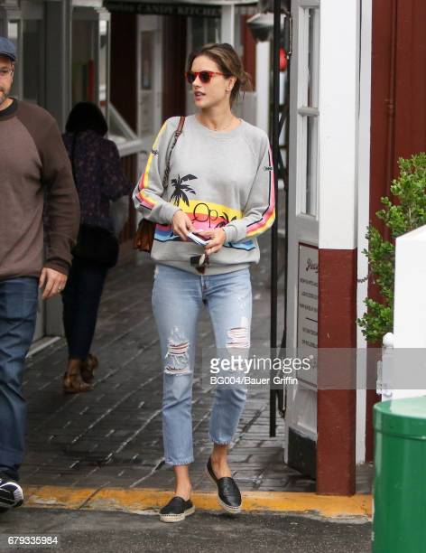 Alessandra Ambrosio is seen on May 05 2017 in Los Angeles California