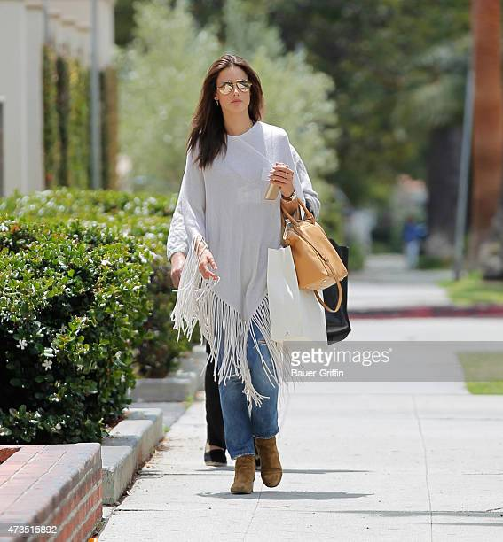 Alessandra Ambrosio is seen on May 15 2015 in Los Angeles California