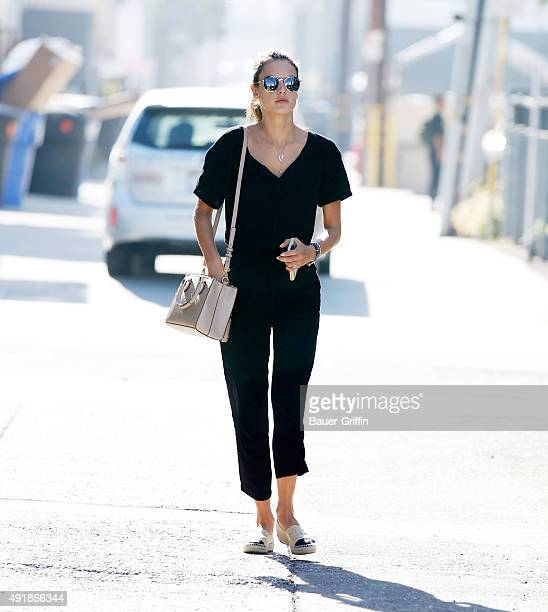 Alessandra Ambrosio is seen on October 08 2015 in Los Angeles California
