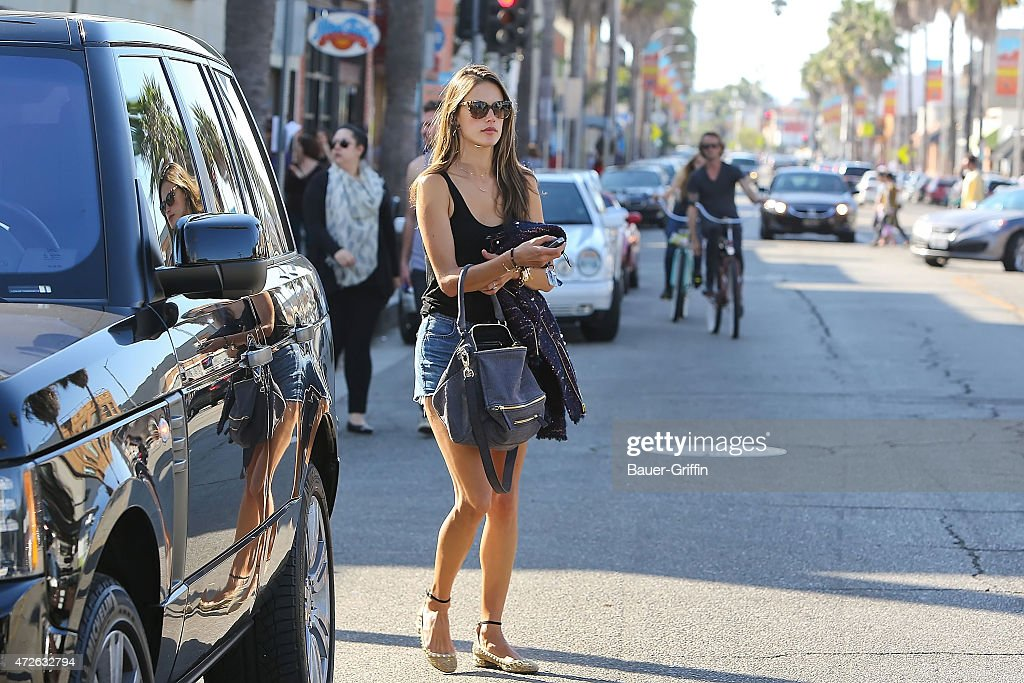 Alessandra Ambrosio is seen on October 13 2012 in Los Angeles California