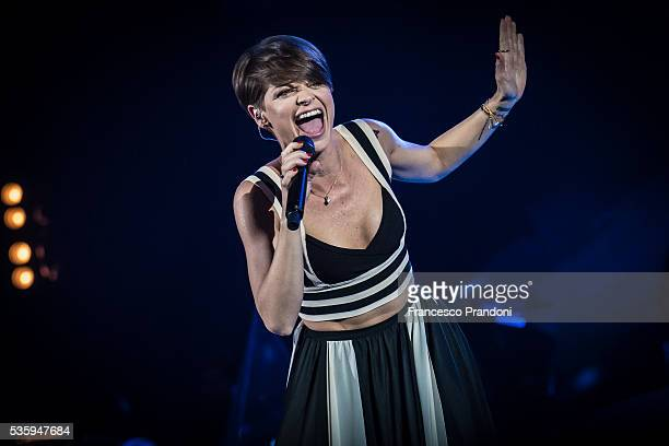 Alessandra Amoroso Performs In Milan on May 30 2016 in Milan Italy