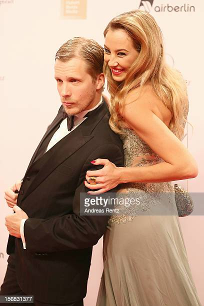 Alessandra and Oliver Pocher attend 'BAMBI Awards 2012' at the Stadthalle Duesseldorf on November 22 2012 in Duesseldorf Germany